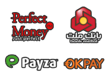 Payza Perfect Money  OKPay  Mellat bank